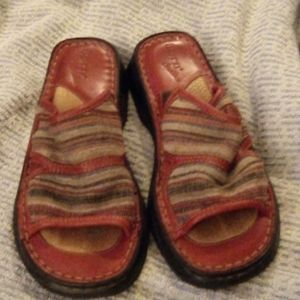 Ladies Born Trilled Slippers